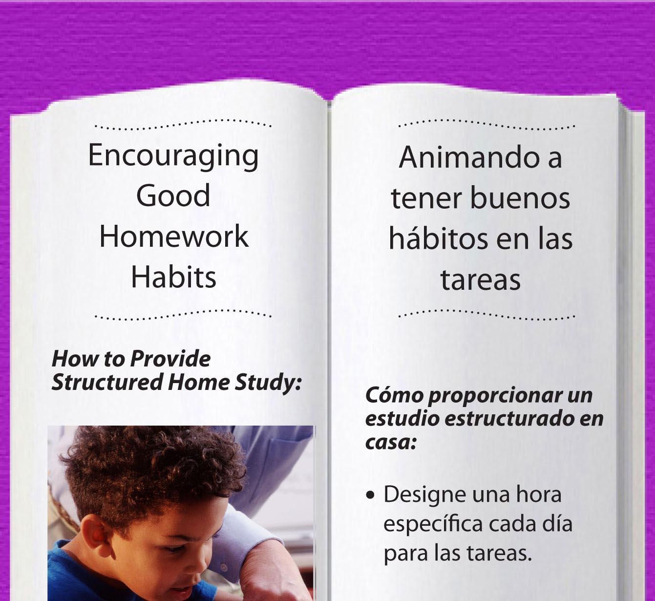 Homework habits